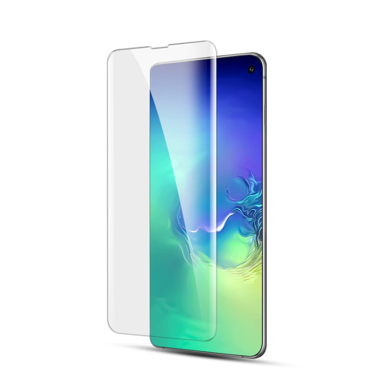 Защитное 3D стекло клейкое с УФ лампой Mocolo 9H 3D Full Screen UV для Samsung Galaxy S10e