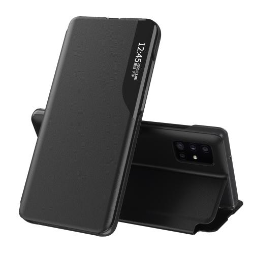 Чехол-книжка Clear View Standing Cover на Samsung Galaxy M31S - черный