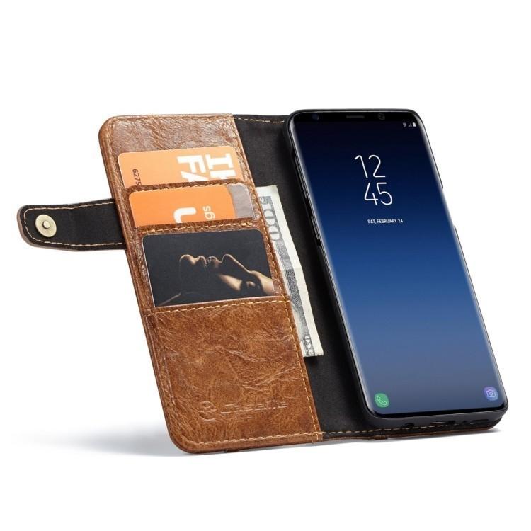Кожаный чехол-книжка на Samsung Galaxy S9+