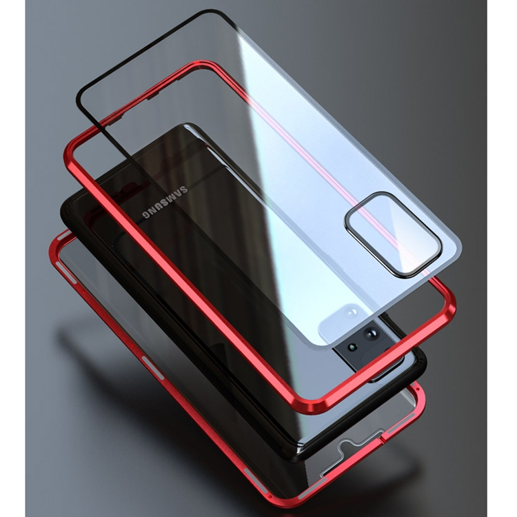 Двусторонний магнитный чехол на Samsung Galaxy S20