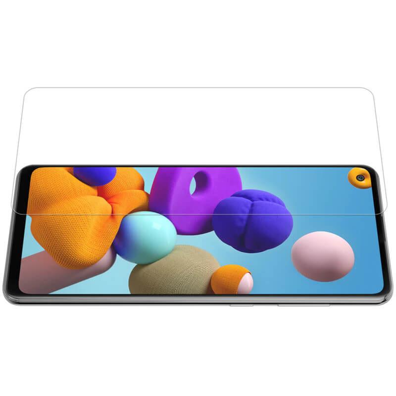 Защитное стекло Nillkin H для Samsung Galaxy A21 / A21s - прозрачное
