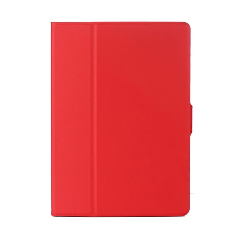 Красный кожаный чехол-книжка для Айпад Аир 2
