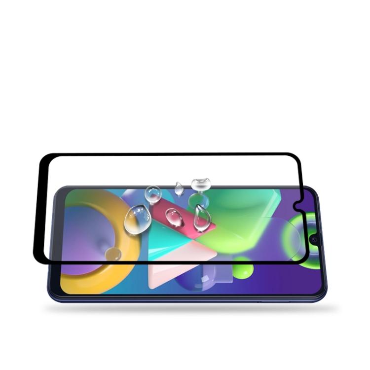 3D Защитное стекло mocolo 0.33mm 9H Full Glue на Samsung Galaxy M21/M31/A20/A30/A30s/A50/A50s -черное