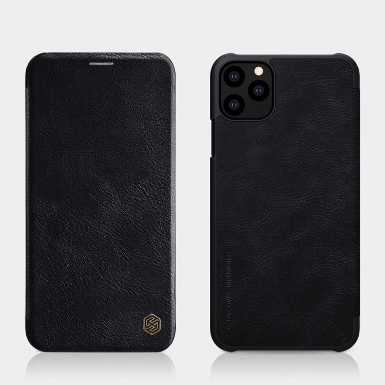 Черный чехол-книжка для Айфон 11 Про черного цвета