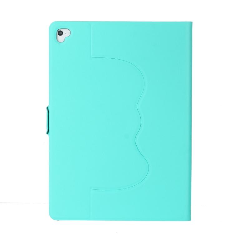Ярко зеленый чехол-книжка для Айпад Аир 2