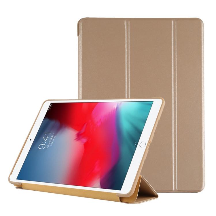 Чехол- книжка ES case Foldable Deformation с силиконовым держателем на iPad Air 3 2019-золотой