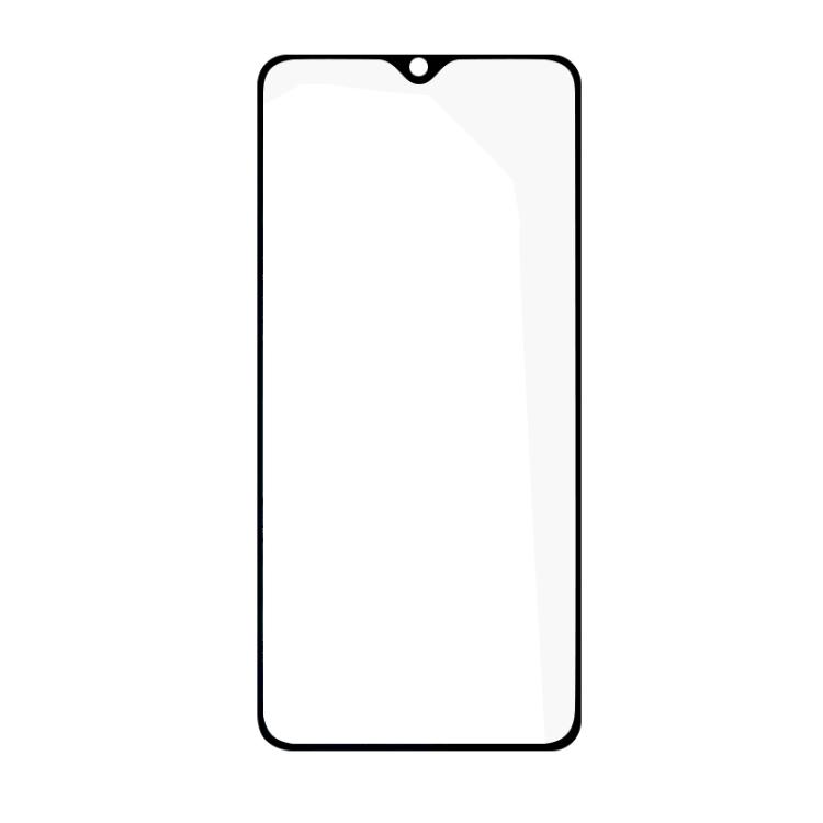 Защитное стекло Full Glue на Realme 5 Pro/Realme Q - черный