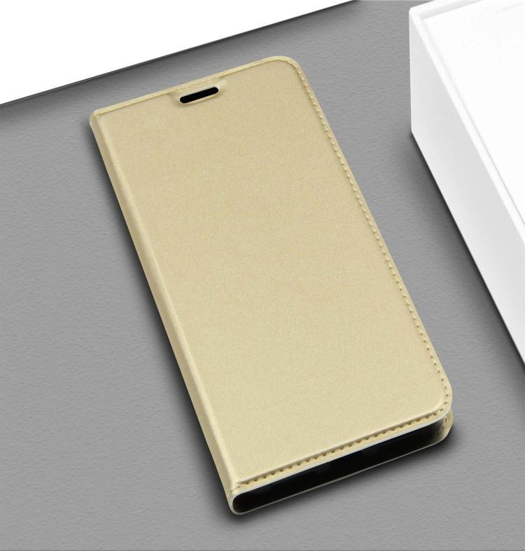 Чехол- книжка DZGOGO ISKIN Series на Samsung Galaxy A50/A30s/A50s-золотой