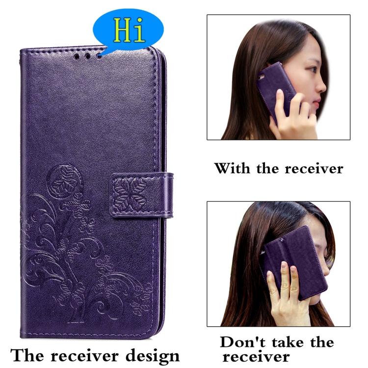 Чехол-книжка Four-leaf Clasp  на Samsung Galaxy S21 Plus