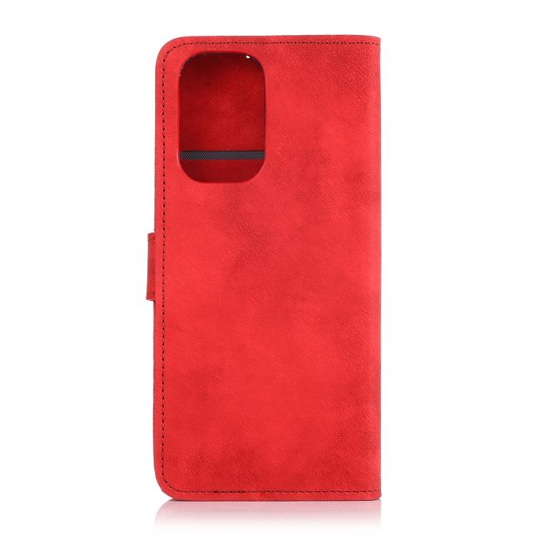 Чехол-книжка на Ксяоми Редми Нот 10S - красный