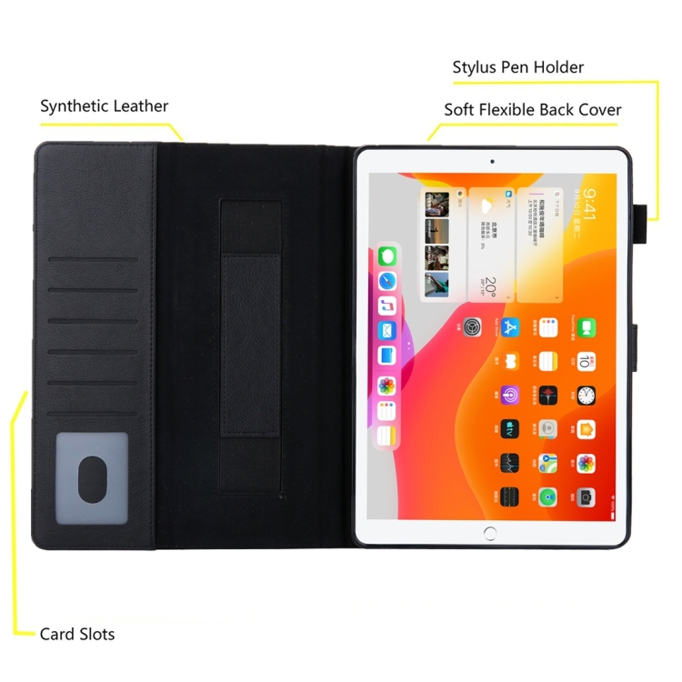 Чехол-книжка Business Style для Айпад Pro 10.5 inch / Айпад 10.2 - черный