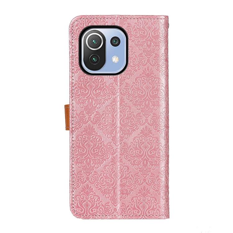 Чехол-книжка European Floral на Xiaomi Mi 11 Lite 5G / 4G