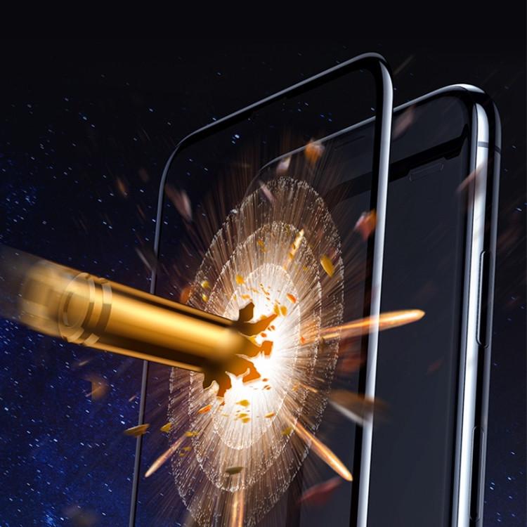 Защитное стекло mocolo 0.33mm 9H 3D Full Glue Curved Full Screen для Айфон 11/Xr-черное стекло mocolo 0.33mm 9H 3D Full Glue Curved Full Screen на iPhone 11/Xr-черное