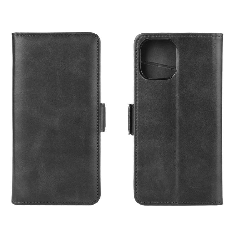 Чехол-книжка Dual-side Magnetic Buckle для iPhone 12 /12 Pro  - черный
