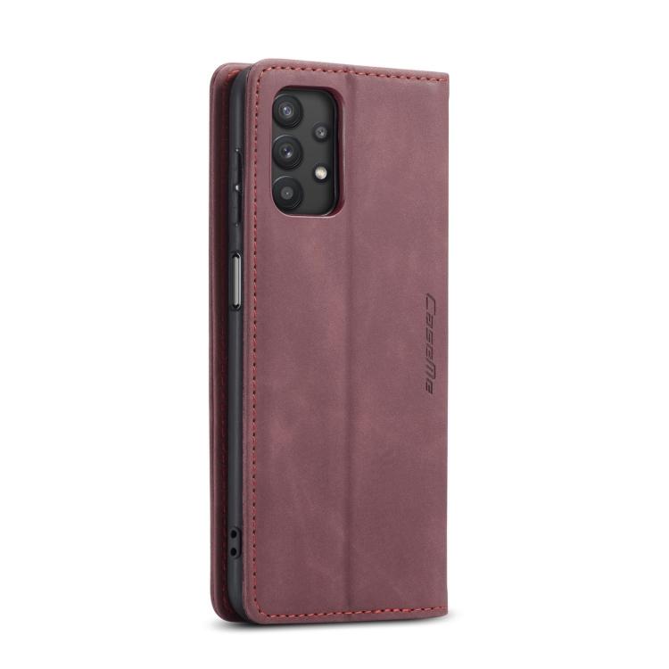 Кожаный чехол-книжка на Samsung Galaxy A32