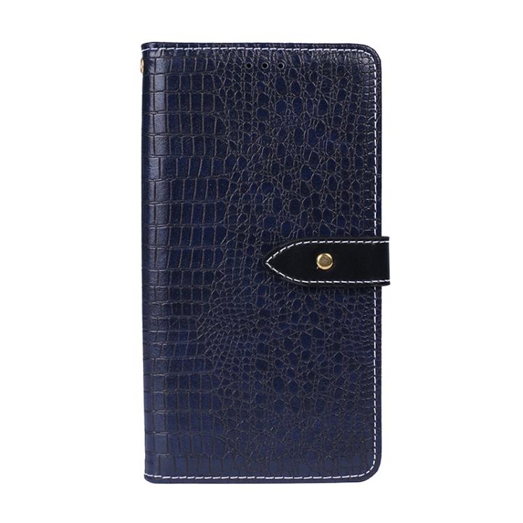 Синий чехол-книжка Crocodile  дляSamsung Galaxy A32 4G
