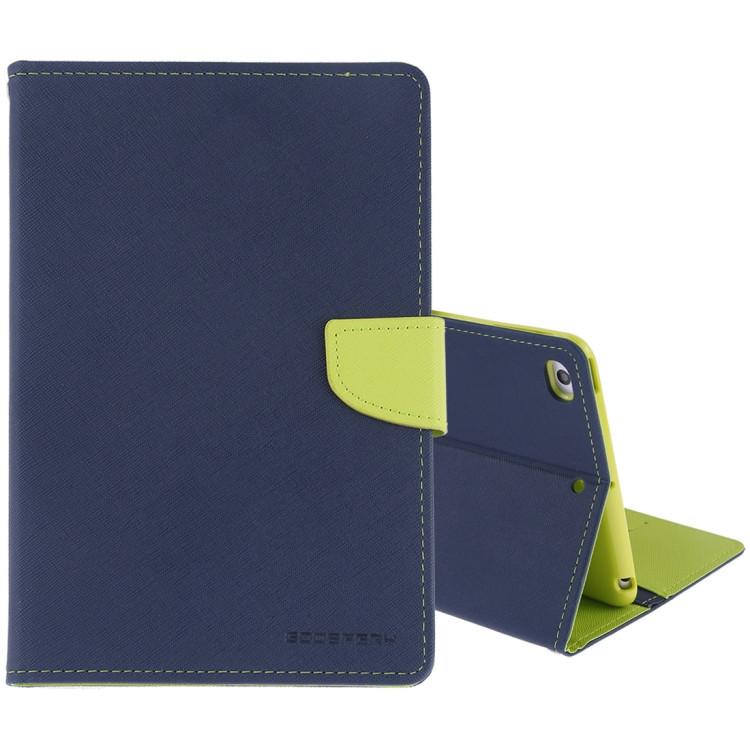 Чехол-книжка для Айпад мини 5 сине зеленого цвета