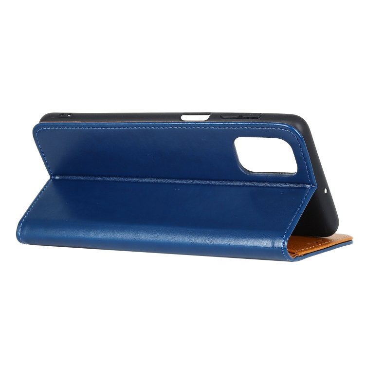 чехол-книжка подставка на Samsung Galaxy A72 синий