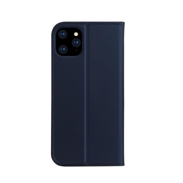 Синий ударостойкий чехол-книжка для Айфон 12