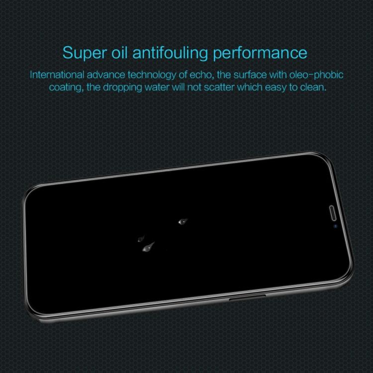 Стекло накладка для Айфон 12 Про Макс чисто белого цвета
