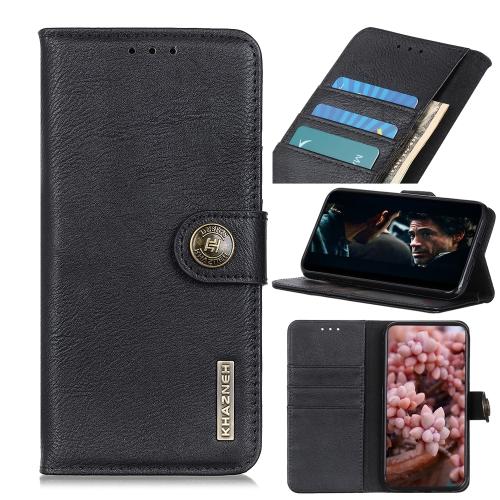 Чехол-книжка KHAZNEH Cowhide Texture на Samsung Galaxy A01 Core / M01 Core - черный