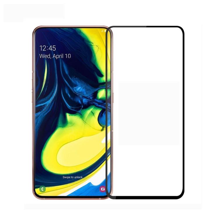 3D стекло MOFI 9H на Samsung Galaxy A80 / A90-черное