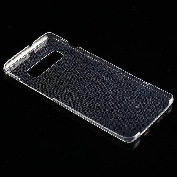 Двусторонний ультратонкий силиконовый чехол на Самсунг Галакси S10e - прозрачный