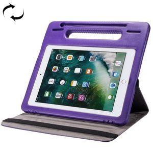 Противоударный чехол 360 Degree EVA Bumper Sleep / Wake-up с ручкой на iPad 7 10.2/ Air 2019/Pro 10.5 -фиолетовый