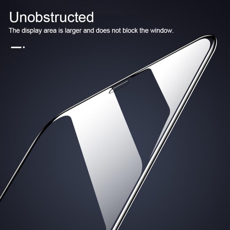 Защитное 3D стекло не конфликтует с чехлам для Realme C3/ Realme 5 9H HD High Alumina - черный