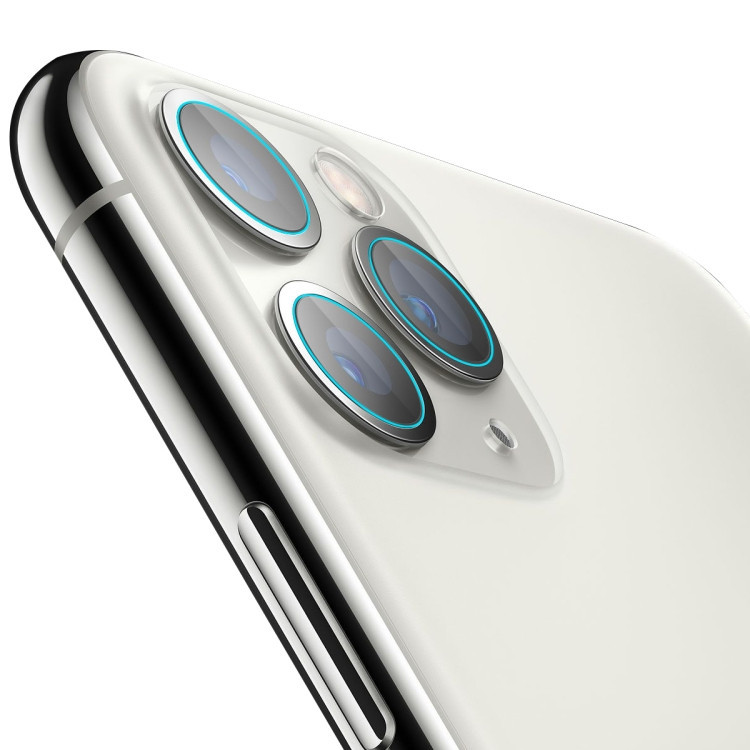 Защита камеры ENKAY Hat-Prince 0.2mm 9H 2.15D Round Edge на iPhone 11 Pro Max / 11 Pro