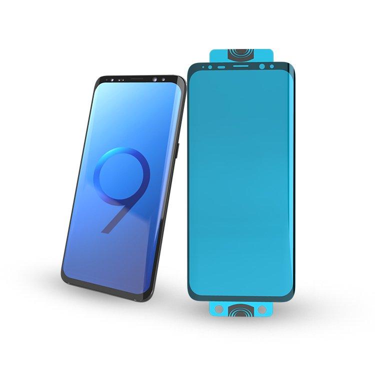 Гибкое стекло 3D Edge Nano Flexi Glass Hybrid на Samsung Galaxy S20 Ultra -черное