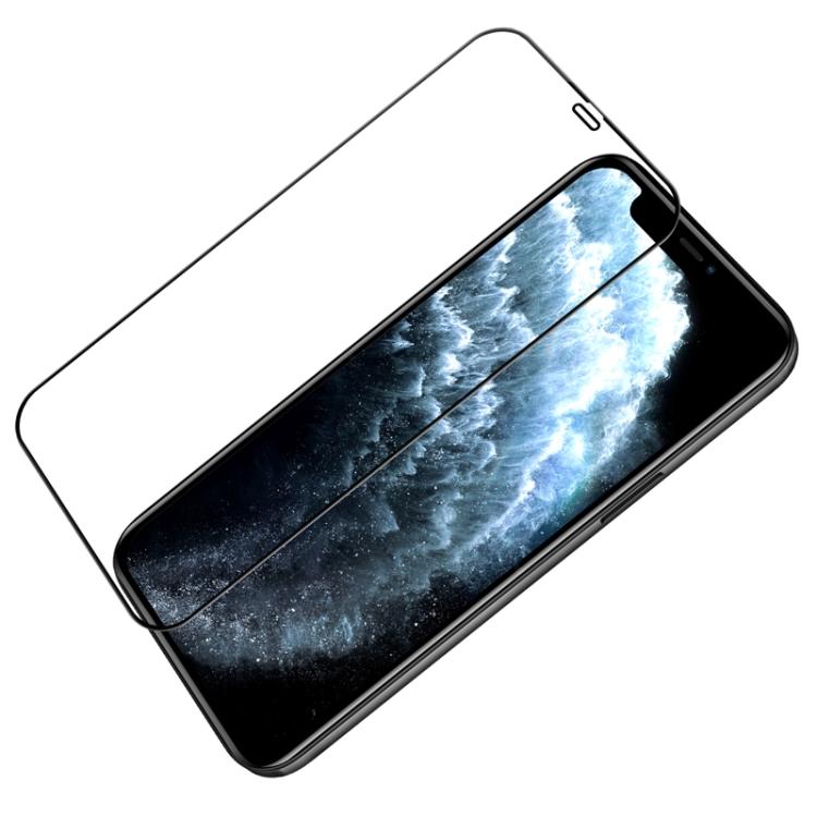 Защитное стекло Nillkin (CP+PRO) для iPhone 12/12 Pro - черное