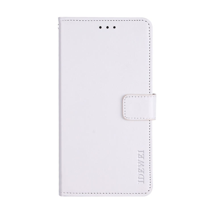 Белый чехол-книжка idewei Crazy на Samsung Galaxy A32 4G