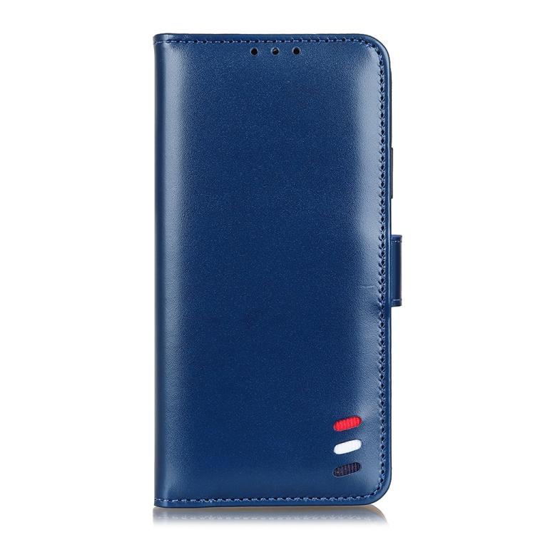 Чехол-книжка 3-Color Pearl на Realme 7 Pro - синий