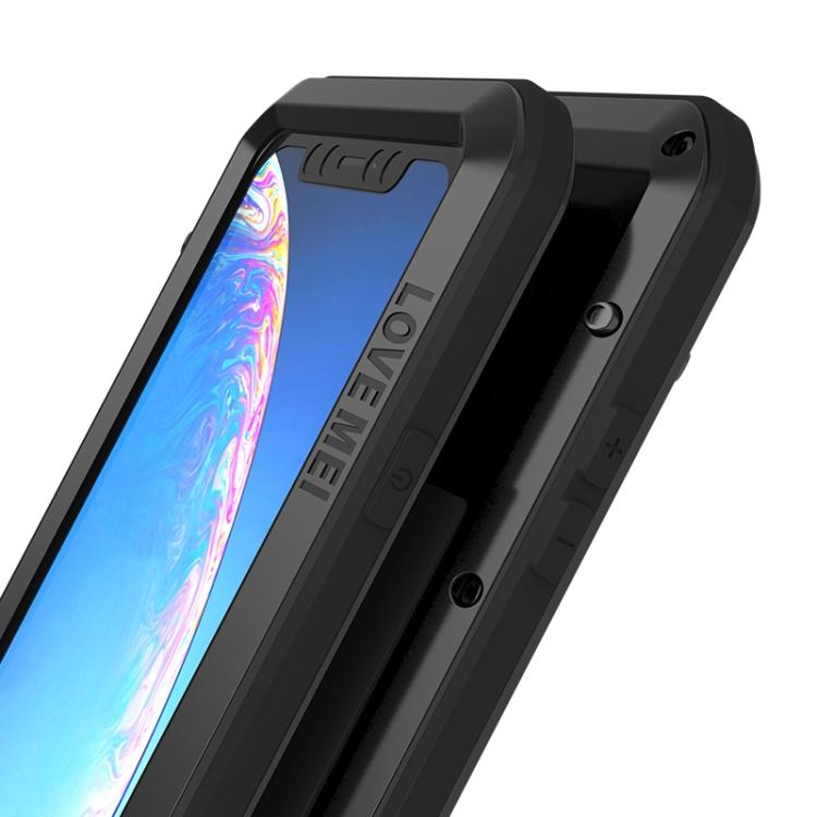 Ударостойкий защитный чехол накладка черного цвета для Айфон 11 Про Макс