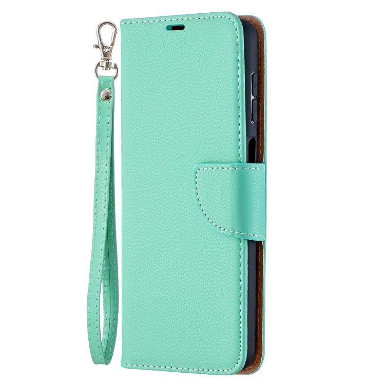Зеленый чехол-книжка Pure Color на Samsung Galaxy A12/M12