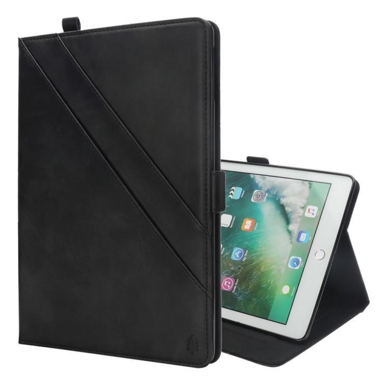 Кожаный чехол-книжка  Double Holder на iPad 9.7  2018 /2017 / Pro 9.7/ Air 2 / Air -черный