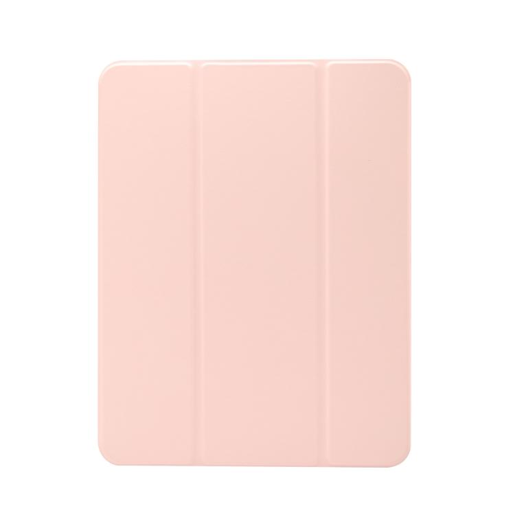 Чехол-книжка 3-folding Electric Pressed  для iPad Pro 11 2021/2020/2018/Air 2020 - светло розовый