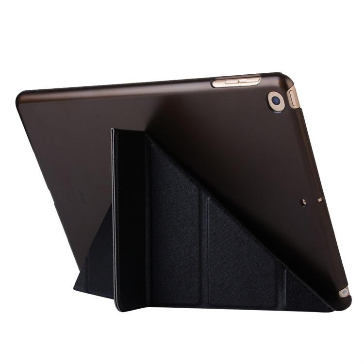 Черный чехол-книжка Silk Deformation для iPad 8/7 10.2