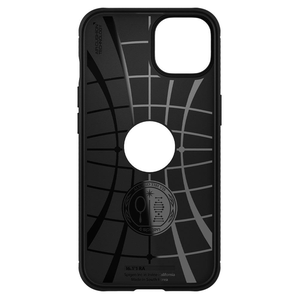 Оригинальный чехол Spigen Rugged Armor для iPhone 13 - matt black
