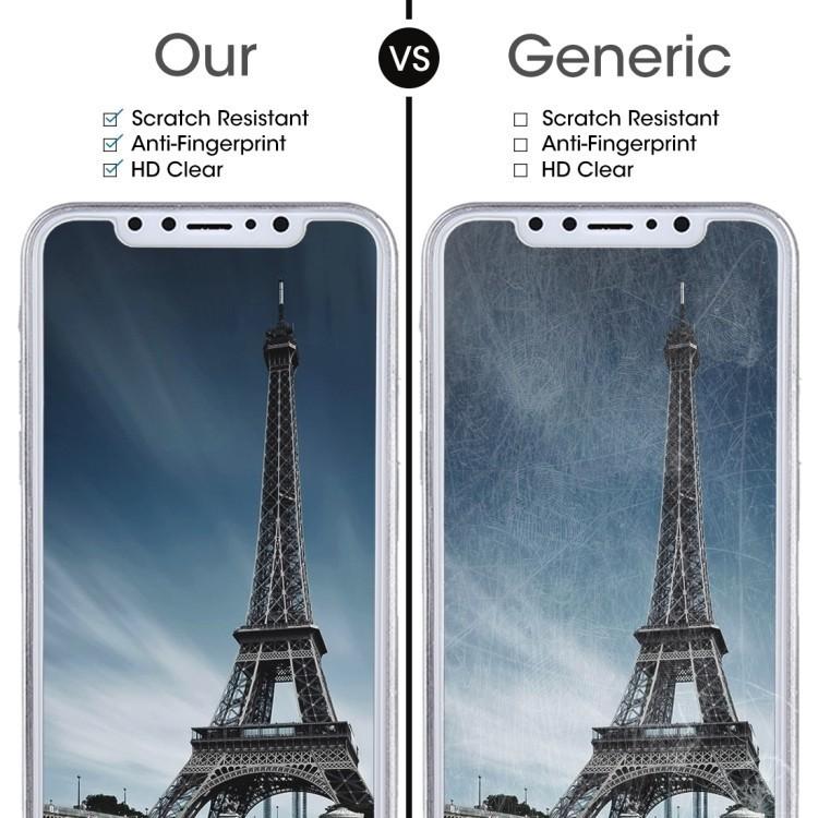Защитное стекло 2.5D на  Айфон 11 Про/X/Xs 0.26mm 9H