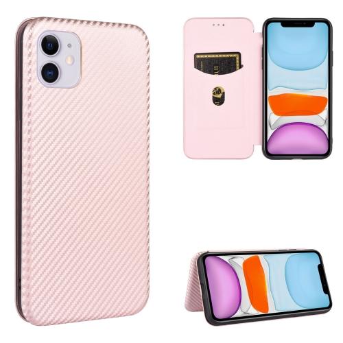 Чехол-книжка на Айфон 12 Mini - розовый