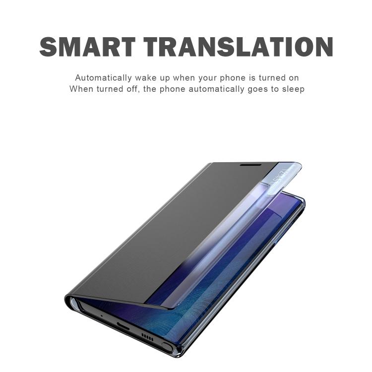 Чехол-книжка с зеркальной крышкой на Samsung Galaxy S21 Plus