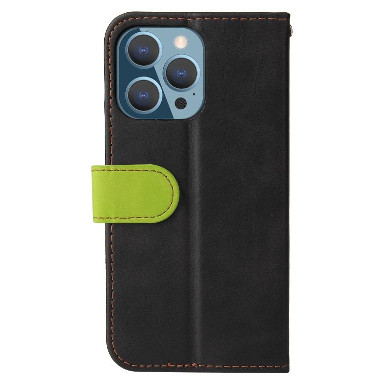 Чехол-книжка для Айфон 13 Pro - зеленый