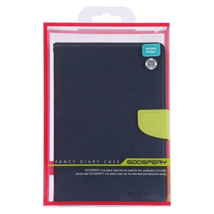 Сине-зеленый чехол-книжка с магнитной защелкой для Айпад мини 5