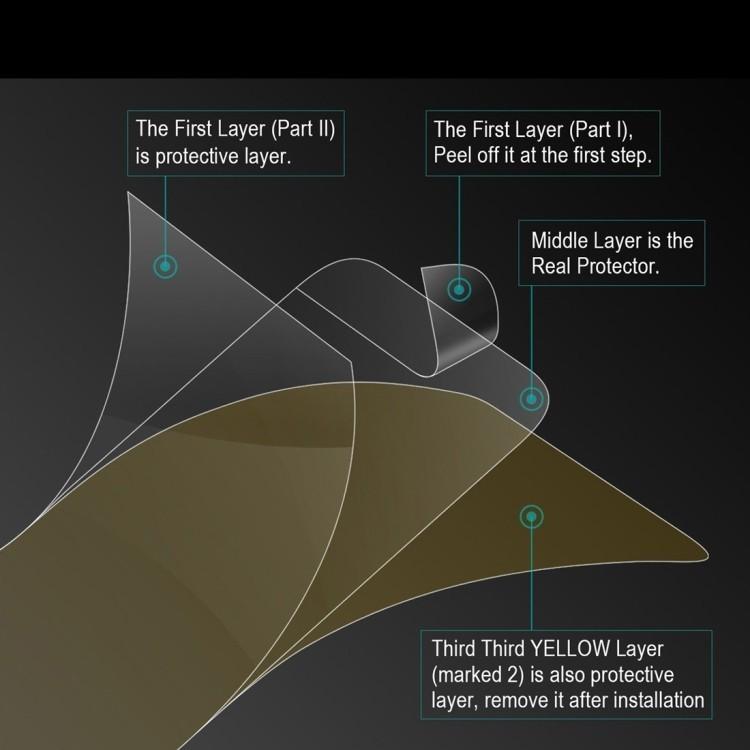 3D защитная пленка на весь экран ENKAY Hat-Prince на iPhone SE 2020/8/7 0.1mm TPU+TPE+PET