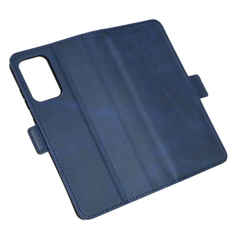 Чехол-книжка Dual-side Magnetic Buckle для Самсунг A72 - синий