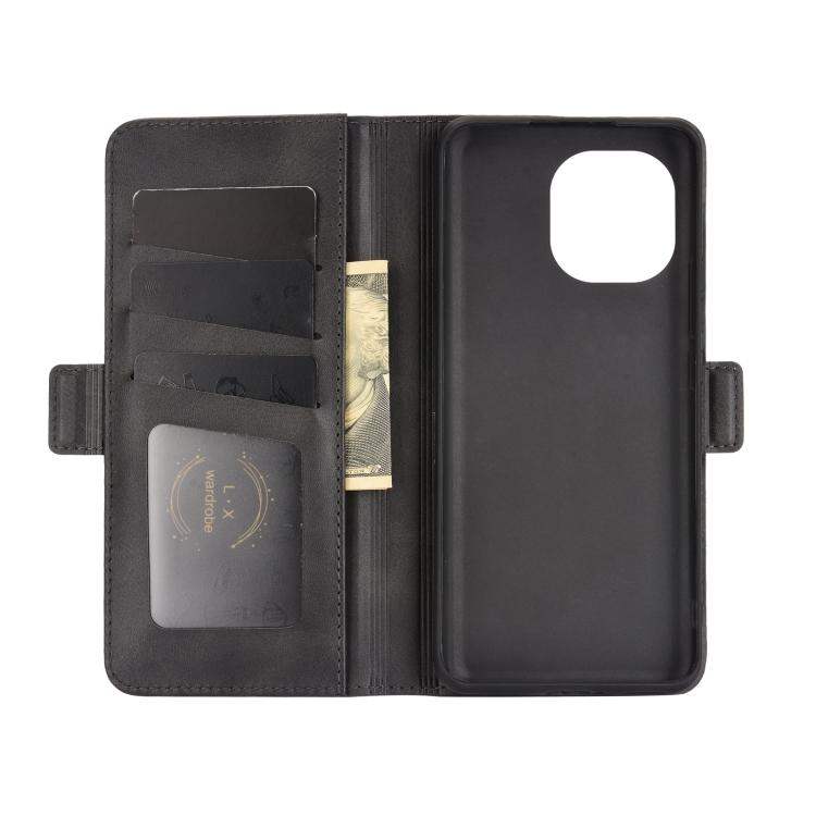 Кожаный чехол-книжка слоты для карт для Samsung Galaxy A02