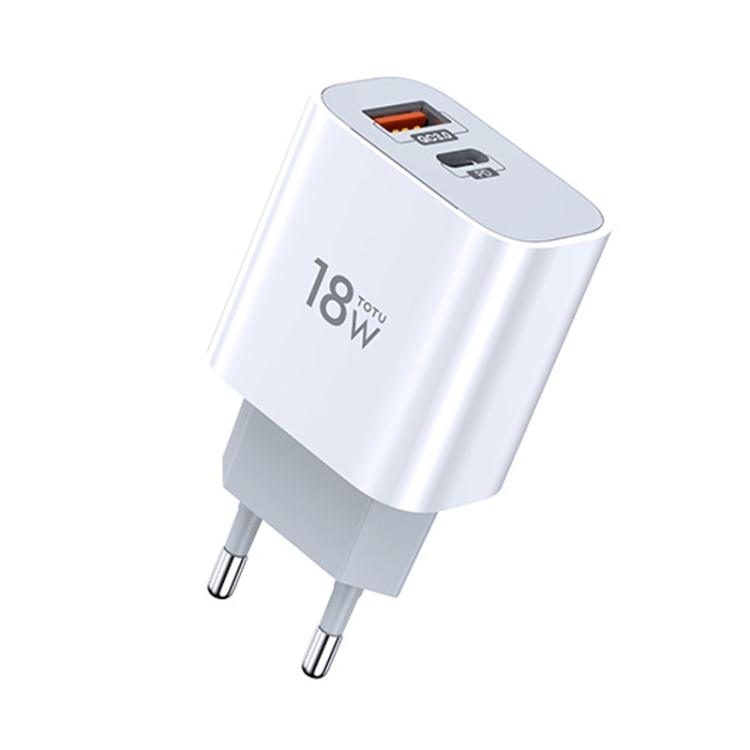 Белый зарядный блок для Айфон