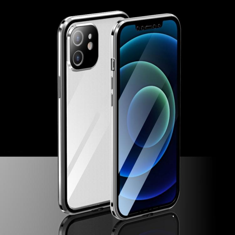 Двухсторонний магнитный чехол накладка для Айфон 12 Мини
